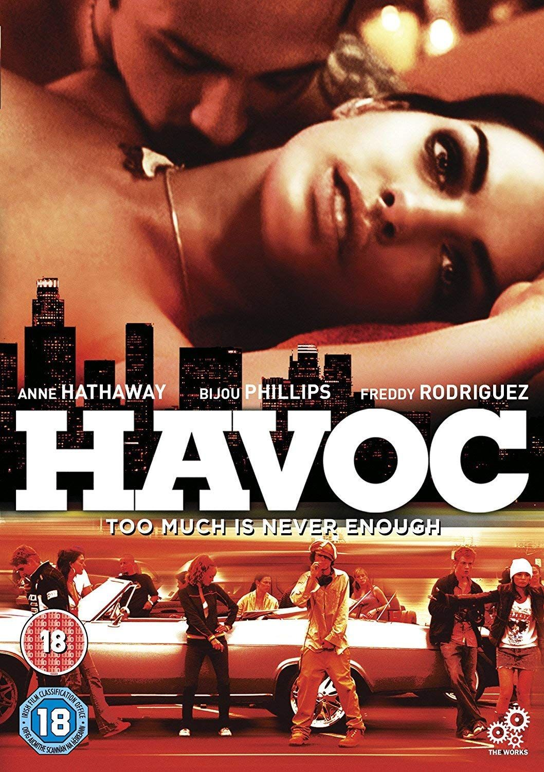 anne hathaway havoc unrated