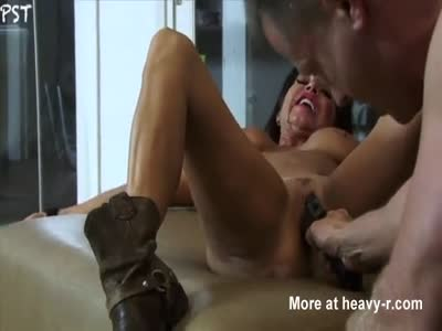 girl stick real gun in pussy video
