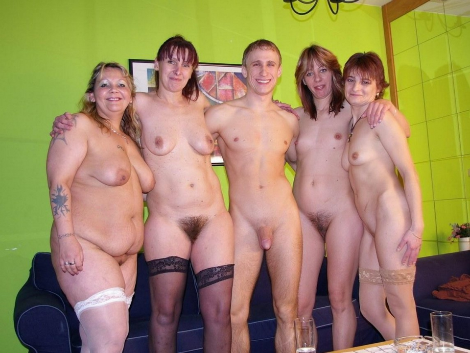 mature women party naked