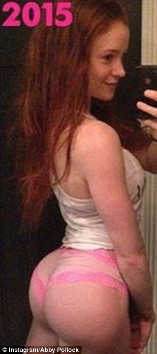 redhead with big butt